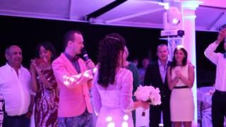 Бросание букета \ Ведущий Алекс Индиго \ Свадьба в Монако