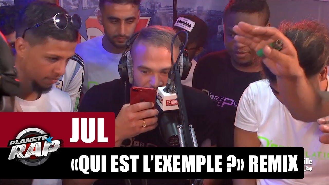 """Jul - Freestyle """"Qui est l'exemple ?"""" Remix [Part 3] #PlanèteRap"""