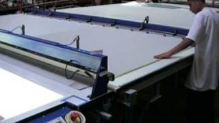 Sani Usa .com Roller Shade Cutting Table Auto Feed And Measure Act