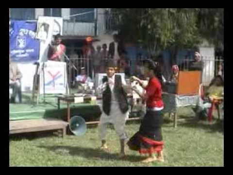 Sankhuwasava Khandbari Nepal Bhasa Mankakhal program.flv