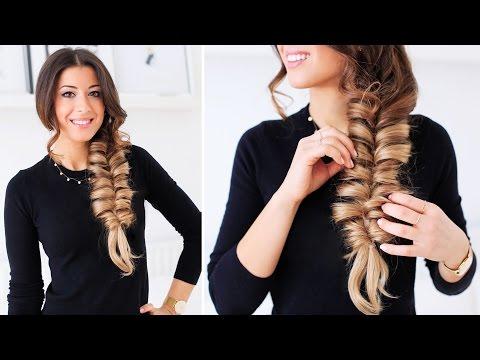Faux Fishtail Braid | Luxy Hair