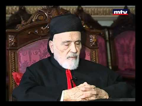 MTV Lebanon   Patriarch Nassrallah Boutros Sfeir