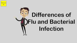 Differences of Flu and Bacterial Infection