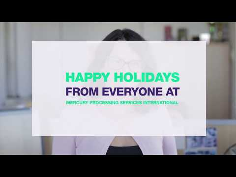 Happy holidays from Mercury Processing Services International
