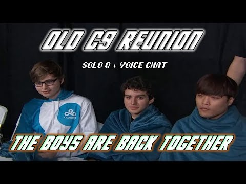 C9 Sneaky   Old C9 Reunion (Trio SoloQ with Impact & Contractz)