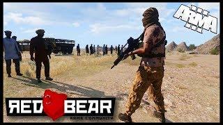 Реальный Бой в Arma 3: СССР война в Афганистане! Симулятор боевых действий! (Arma 3  RED BEAR)