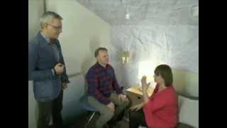 Цифровые обои Rebel Walls в передаче Фазенда на Первом канале (спальня)