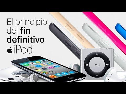 El principio del fin definitivo del iPod