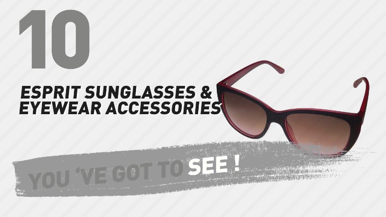 be477b550c4 Esprit Sunglasses   Eyewear Accessories    New   Popular 2017 - YouTube