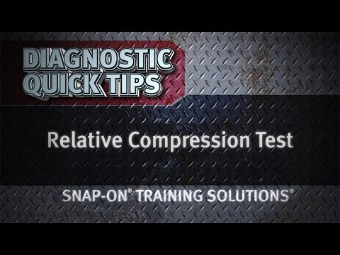 Relative Compression Test - Diagnostic Quick Tips | Snap-on Training Solutions®