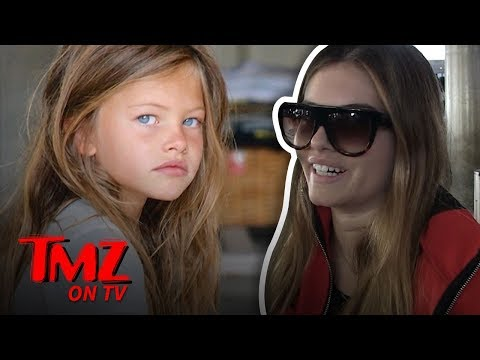 'World's Most Beautiful Girl' Has Advice For Millie Bobby Brown | TMZ TV