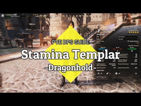 ESO - Stamplar PvE Guide - 93 1k DPS - EZ rotation