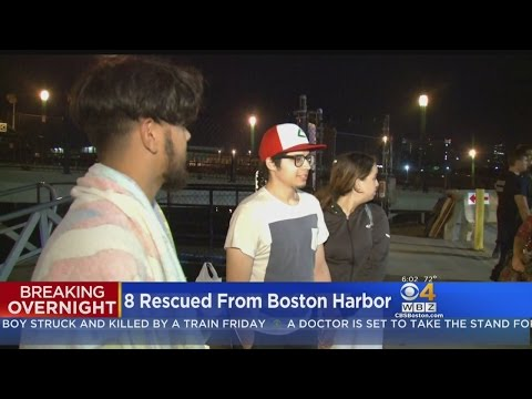 8 Boaters Rescued From Boston Harbor