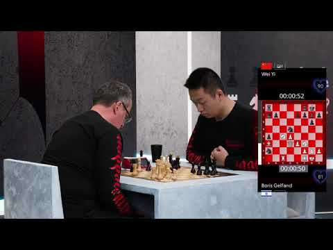 World Chess Armageddon  Boris Gelfand Vs Wei Yi 4
