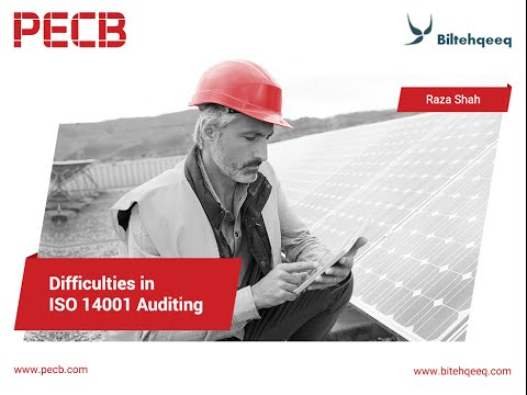 Auditing difficulties in ISO 14001