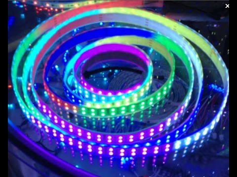 Dual row tm1812 ic digital programmable 5050 led strip lights dual row tm1812 ic digital programmable 5050 led strip lights youtube aloadofball