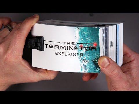Drawing a Terminator Flip Book!