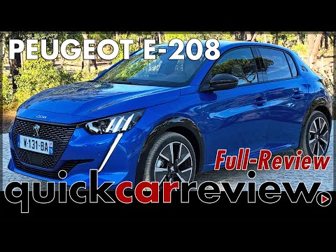Peugeot e 208 Review - Test drive in the small electric Peugeot | 2019 | Test | Range | English