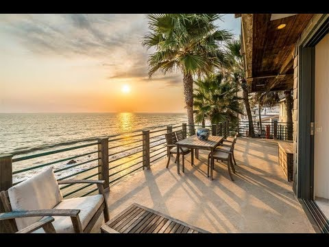 Tropical Beachfront Architectural Home in Malibu, California | Sotheby's International Realty