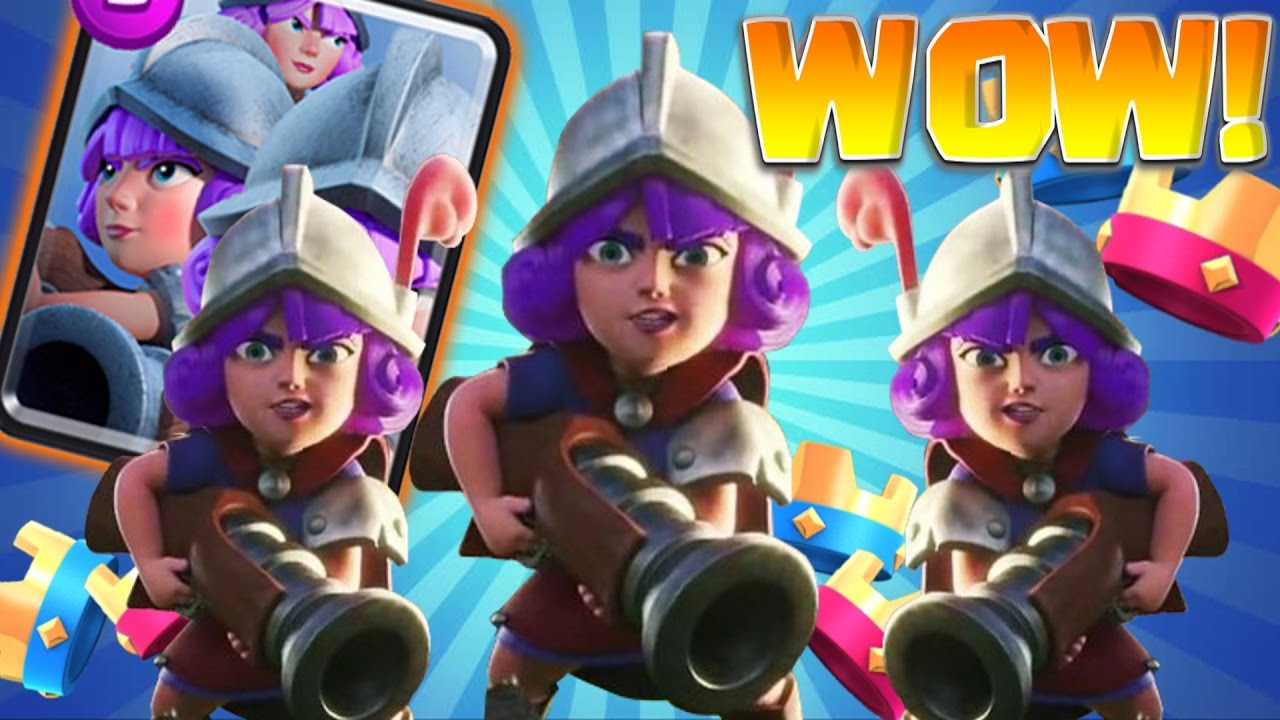 WINNING with My WORST DECK! Clash Royale - 3 Musketeer Deck