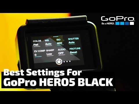 The Absolute BEST Settings for the GoPro Hero5 Black | RehaAlev