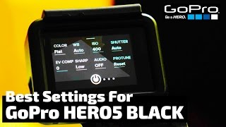 Video The Absolute BEST Settings for the GoPro Hero5 Black | RehaAlev download MP3, 3GP, MP4, WEBM, AVI, FLV Agustus 2018