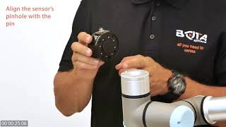 Installing a force torque sensor in under a minute | Bota Systems