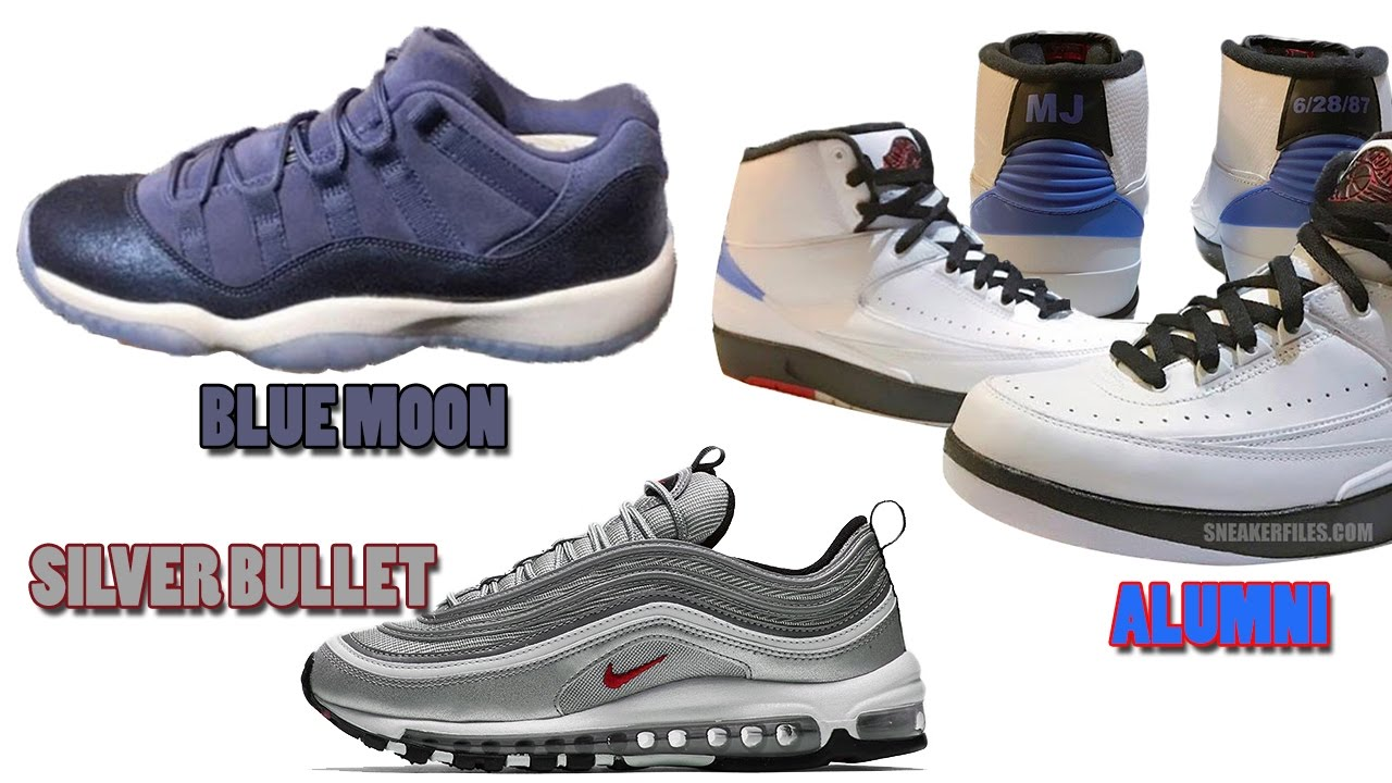 527326bdbca Air Jordan 2 Alumni, Jordan 11 Low Blue Moon, Air Max 97 Silver Bullet Release  Date and More