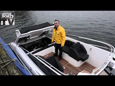 New Windy 29 Coho on test with Motor Boats Monthly