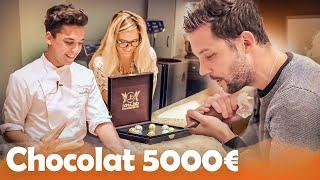 Chocolat 24 CARATS 5000€ VS Chocolat INSOLITE avec Léa Camilleri thumbnail