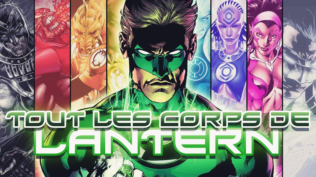 Download Les 12 CORPS de LANTERN!