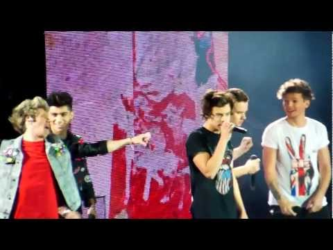 One Direction - I Would - O2 Arena (matinee) 24-2-13 HD