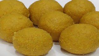 हलवाई जैसे दानेदार बेसन के लड्डू बनाने की सीक्रेट रेसिपी/besan ke laddu/laddoo /diwali sweets recipe