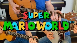 Super Mario World - Athletic Theme (Fingerstyle acoustic guitar arrangement) [スーパーマリオワールド]