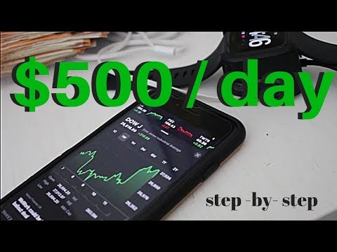 How To Make $500 in 10 Minutes a Day Trading Stocks … The Stock Market