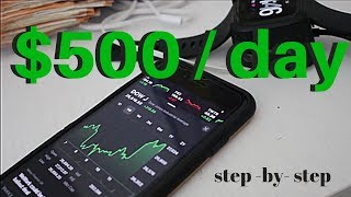How To Make $500 in 10 Minutes a Day Trading Stocks ... The Stock Market