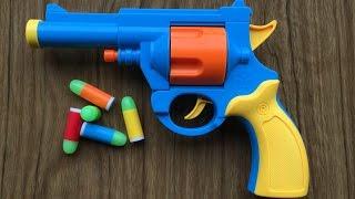 Іграшковий пістолет - реалістична 1:1 масштаб бульдог револьвер .45 АСР - гумові кулі пістолет пзо