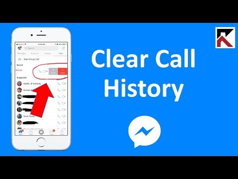 How To Clear Call History Facebook Messenger