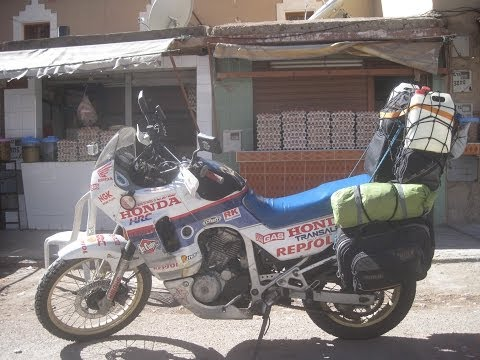 [Slow TV] Motorcycle Ride - Morocco - Tata to Ighrem