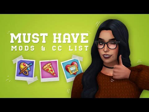 The Sims 4 - My Must Have Mods & CC List // + LINKS 📝 - Самые