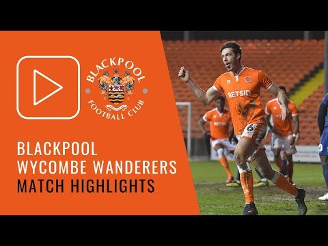 Highlights | Blackpool 2 Wycombe Wanderers 2