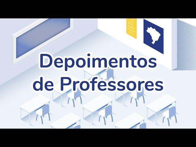 Depoimentos de Professores sobre o Programa Todos Aprendem do iABCD