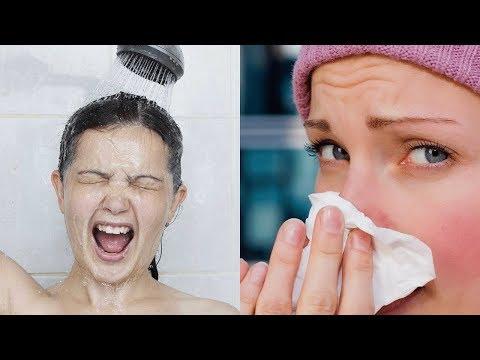 Можно ли мыться во время гриппа или простуды при температуре или принимать душ