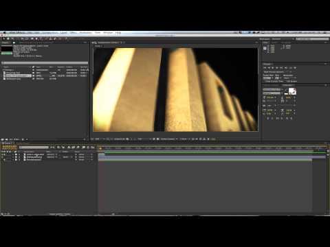 (Spanish) Tutorial de básicos de audio | After Effects CS6