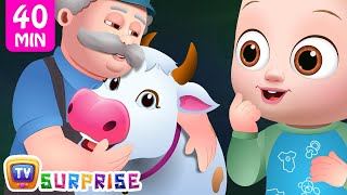 Old Macdonald Had A Farm - Farm Animals and Colors For Kids - ChuChuTV Surprise Eggs Learning Videos