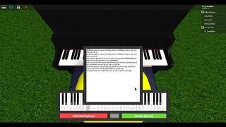 Fur Elise en el piano roblox!