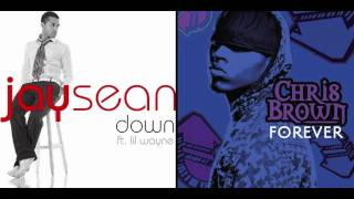 Baby, Are You Down Forever (Chris Brown Forever / Jay Sean Down Mash Up)
