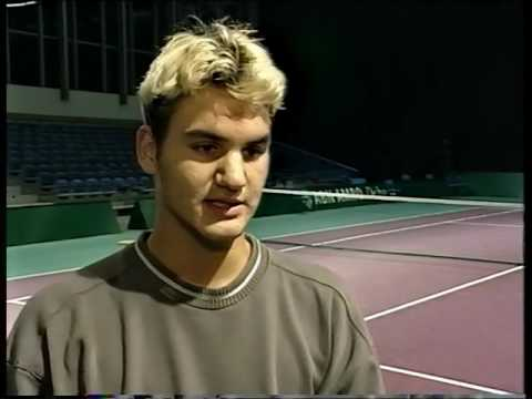 Thumbnail: Roger Federer 1999 Interview