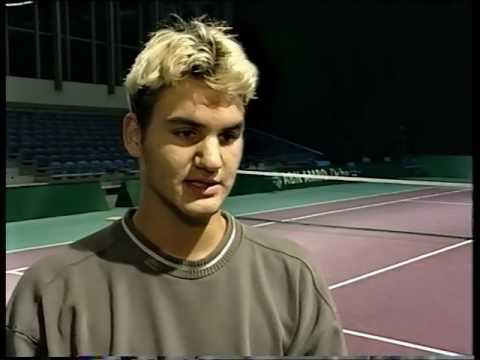 Roger Federer 1999 Interview - YouTube