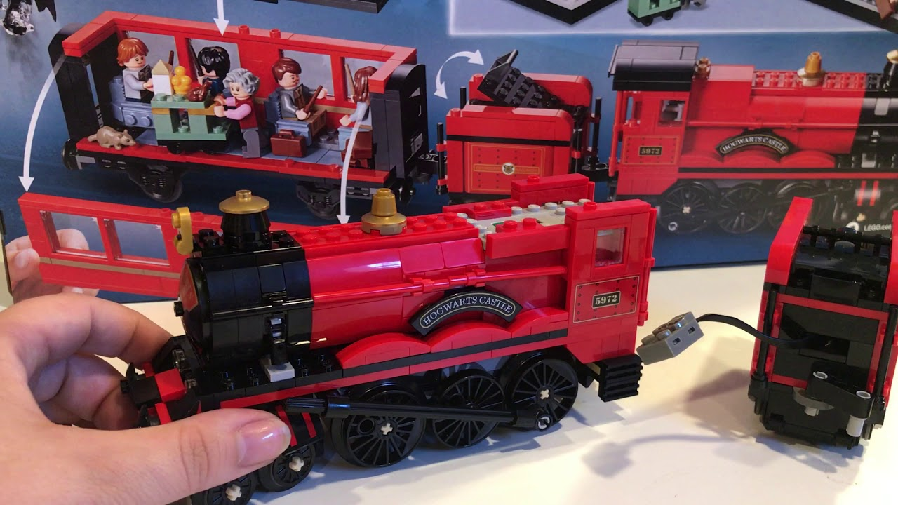 Lego 75955 Hogwarts Express- Motorized
